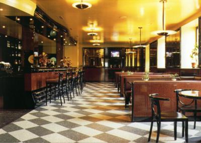 Arredo Bar Triangolo a Bellinzona 1994